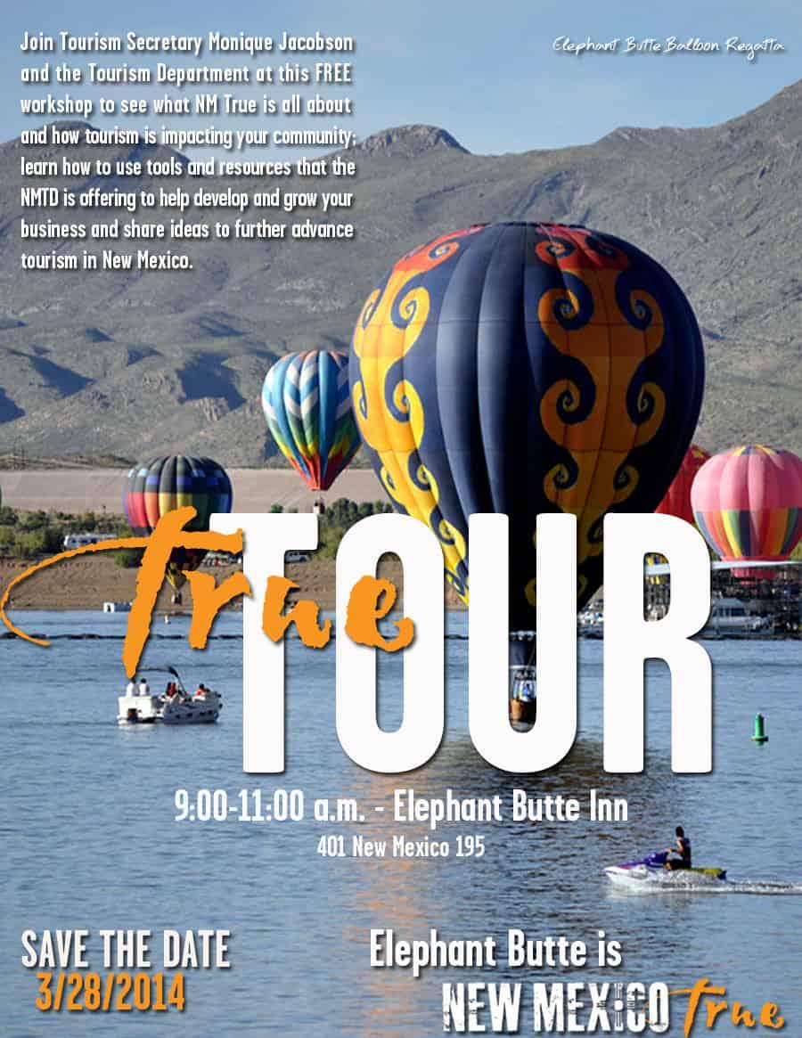 "New Mexico State Tourism ""True Tour"""
