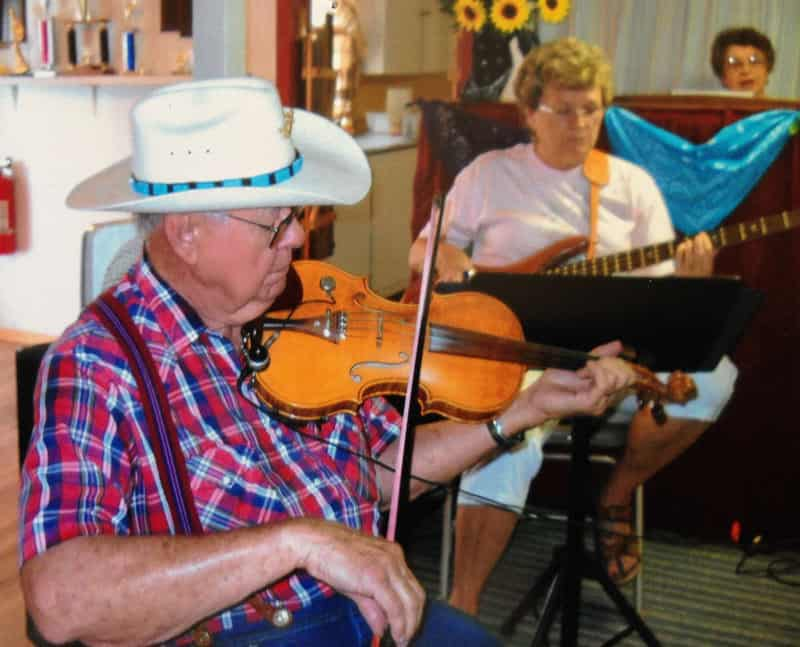 Old Time Fiddlers Dance