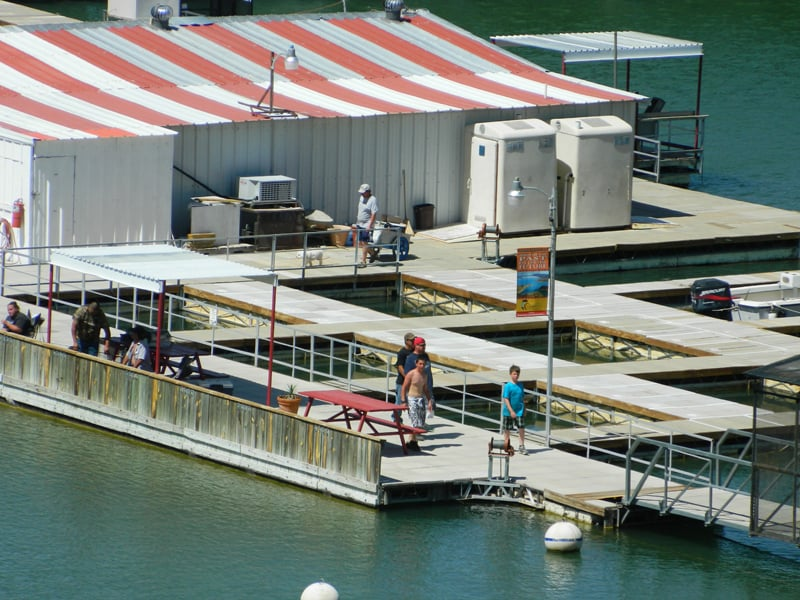 Dam Site Marina boats