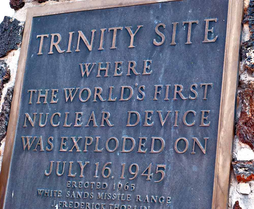 Trinity Site Tour - twice a year, April and October