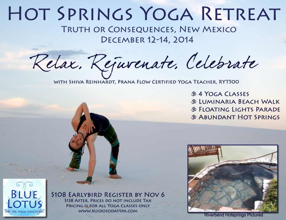 Hot Springs Yoga Retreat