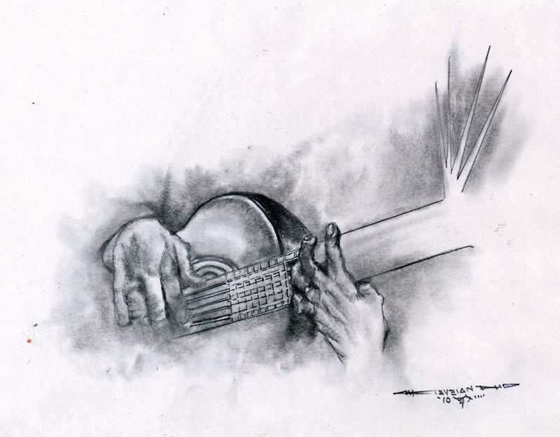 guitar music by Tomas Vigil at Cafe BellaLuca