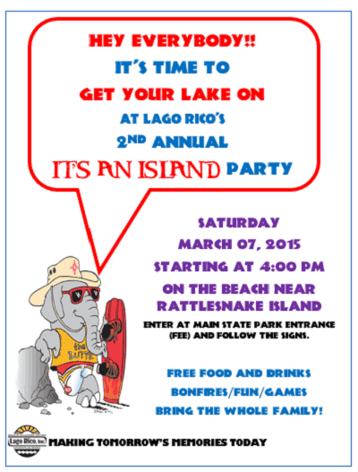 2nd Annual IT'S AN ISLAND Party