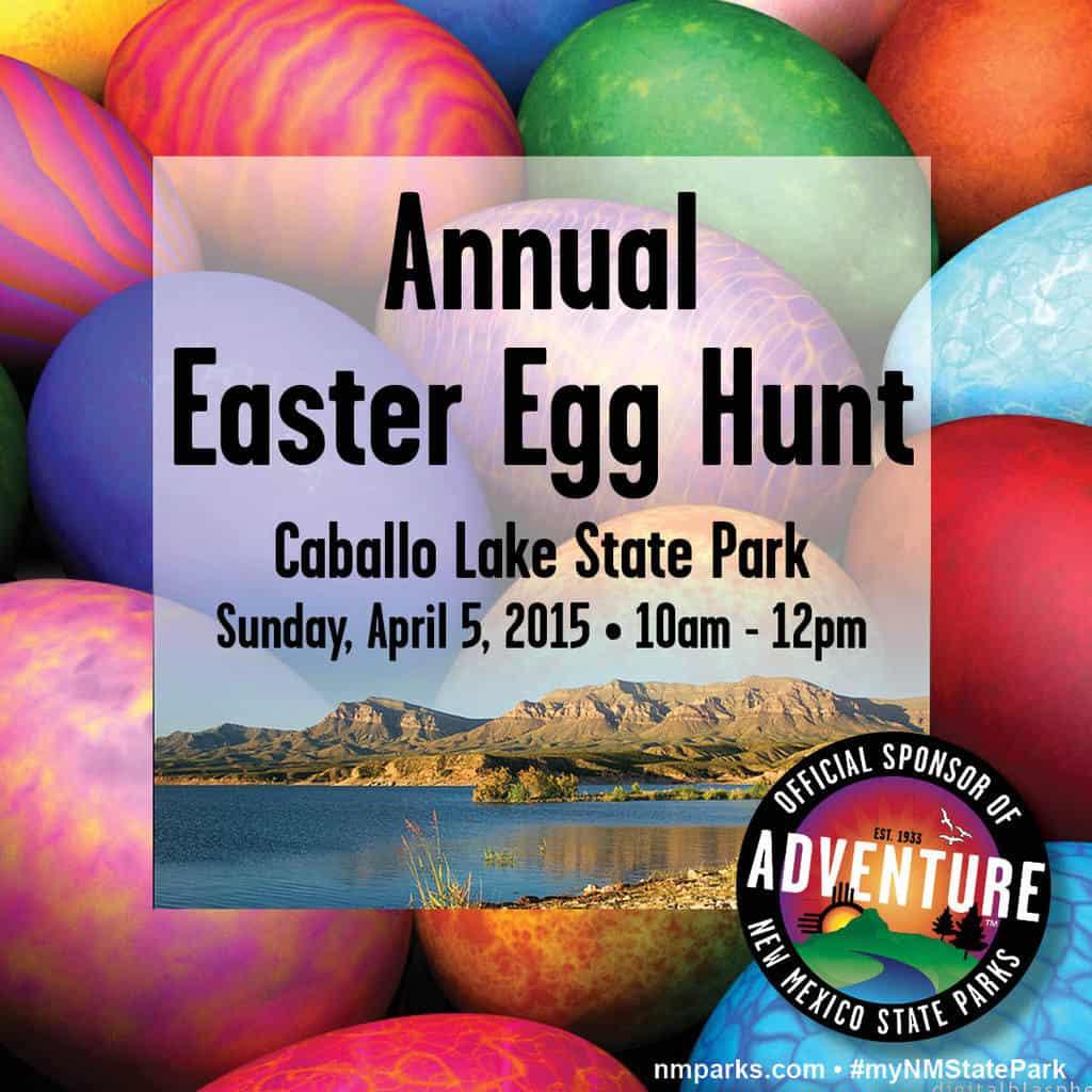 Caballo Lake State Park Egg Hunt