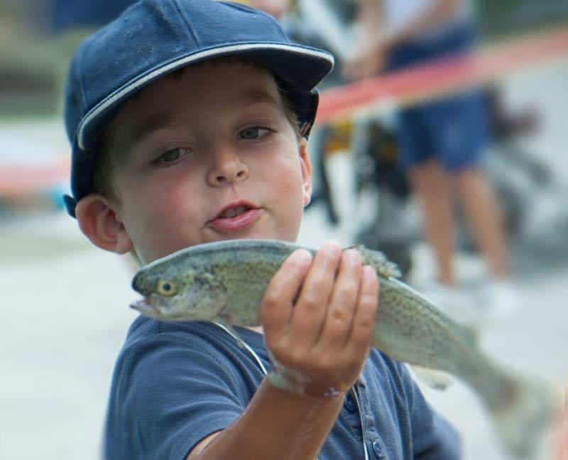 Annual Junior Open Fishing Tournament
