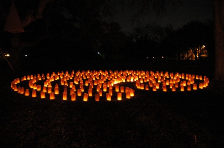 Luminaria Labyrinth Walk