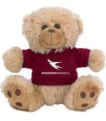 Spaceport America teddy bear