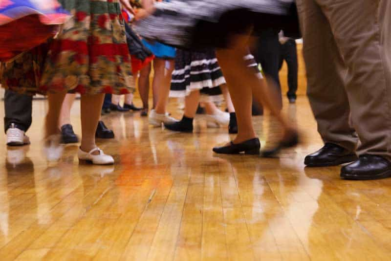 square dance in Truth or Consequences