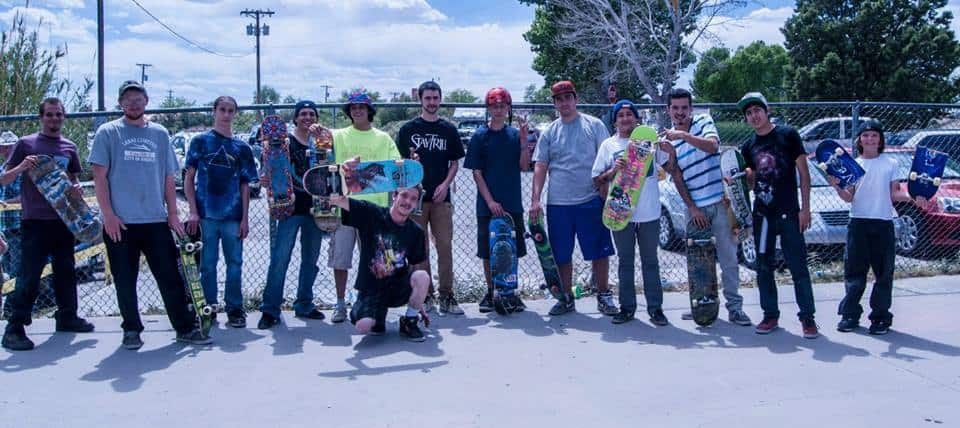 Fiesta Skateboard Competition