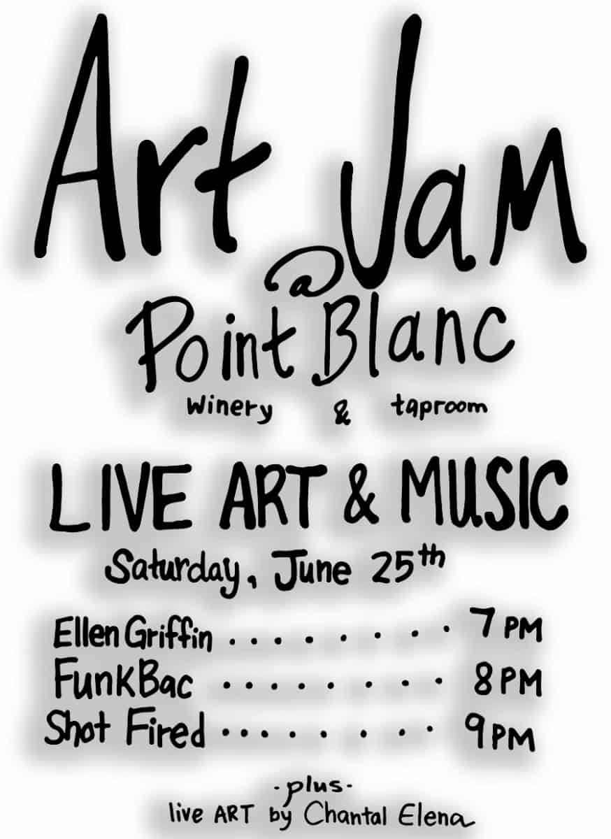 ART JAM @ Point Blanc (Winery & Taproom)