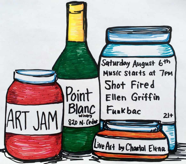 ART JAM: Live Art & Music
