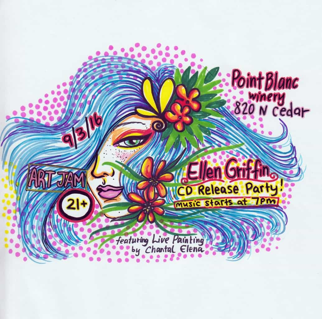 Art Jam & Ellen Griffin CD Release Party