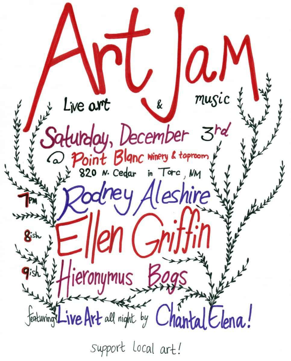 Art Jam! Live Art & Music!