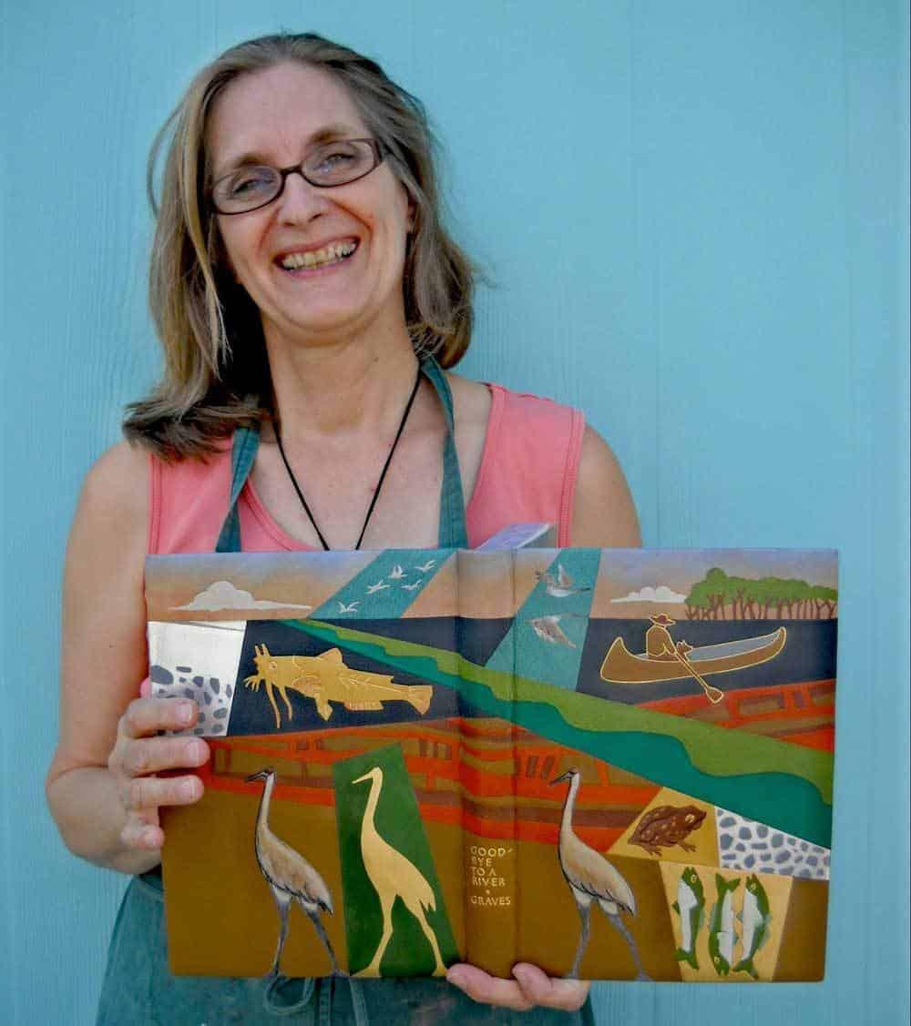 master bookbinder Priscilla Spitler