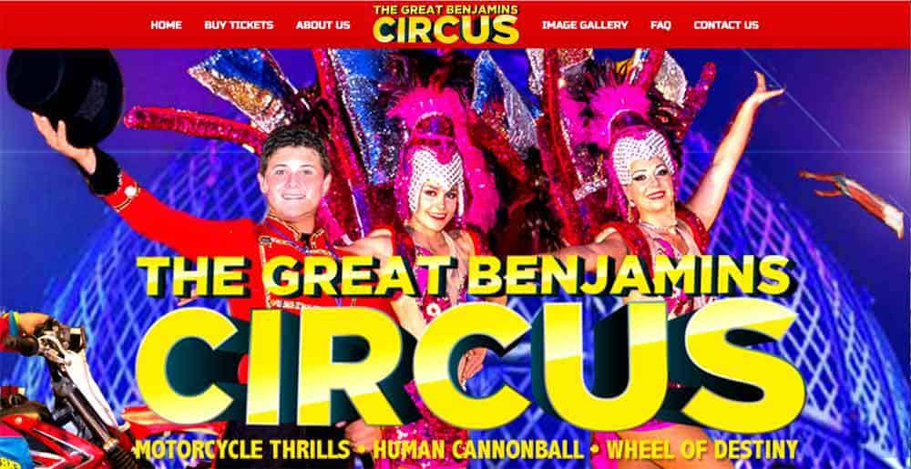 The Great Benjamin's Circus (2 shows!)