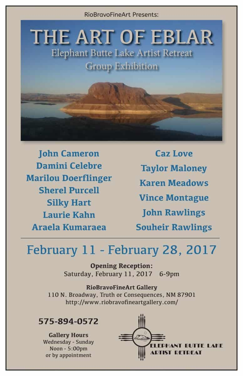 Elephant Butte Lake Artists Retreat: Group Exhibition & Opening Reception