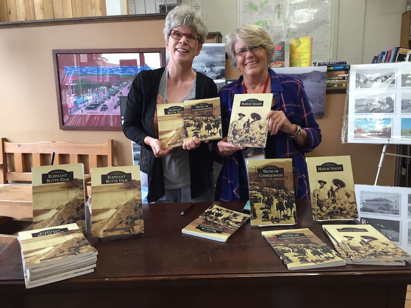 Sherry Fletcher, co-author of several books on Sierra County's history