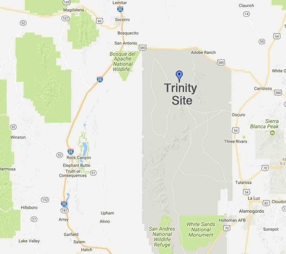 Trinity Site Tour - twice a year