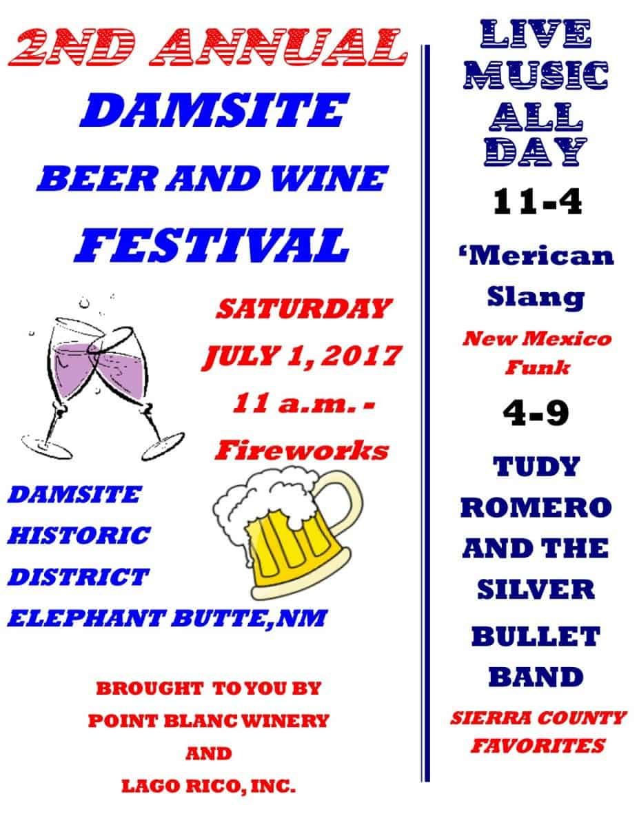 Second Annual Damsite Beer and Wine Festival