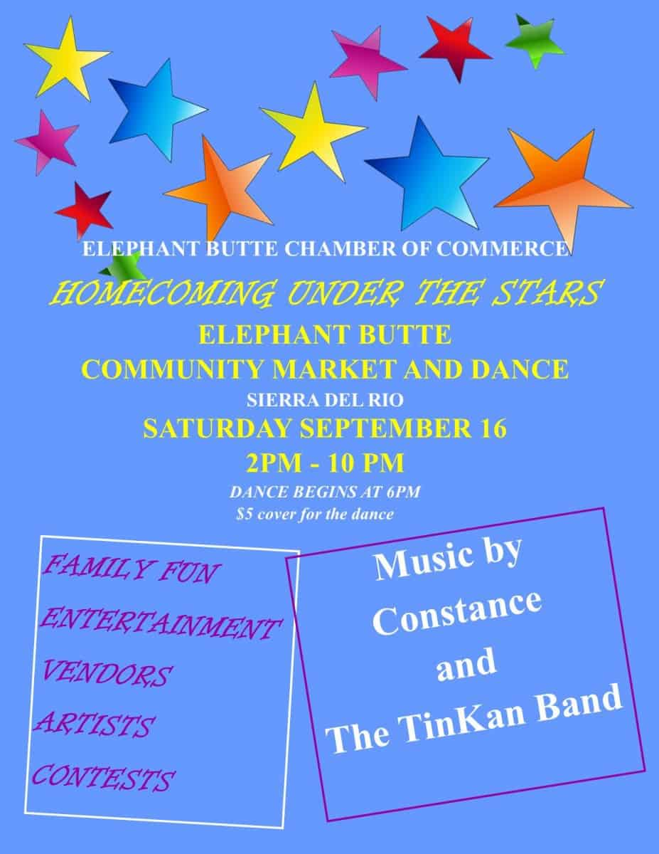 Homecoming Under the Stars Community Market & Dance