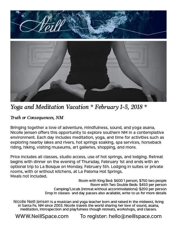 Yoga and Meditation Vacation