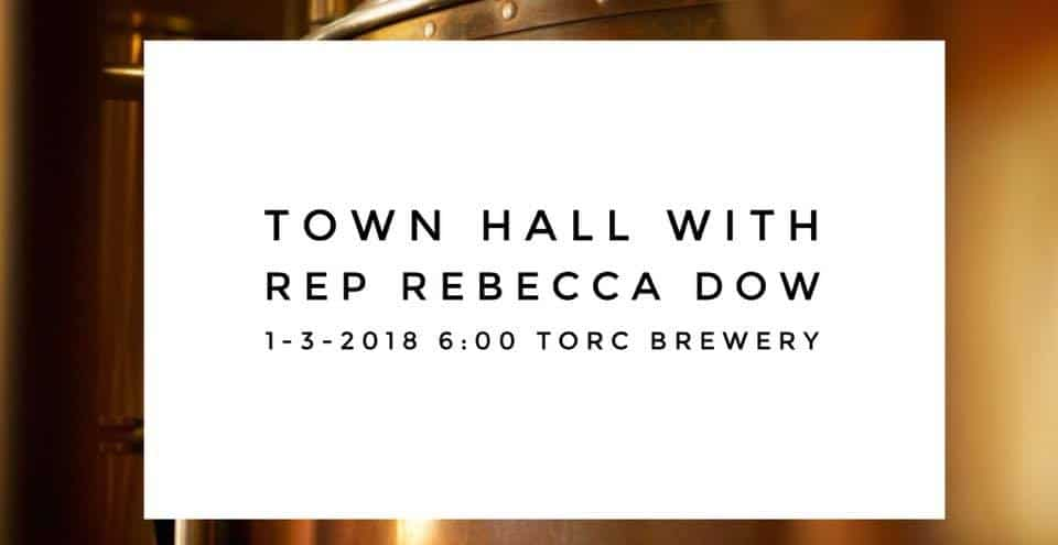 Town Hall w/ Rep Rebecca Dow