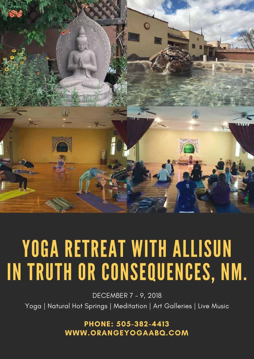 Yoga and Hot Springs Retreat