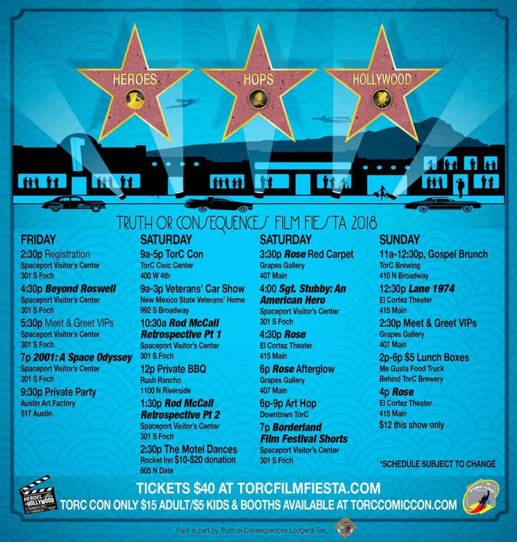 Heroes, Hops & Hollywood: TorC Film Fiesta