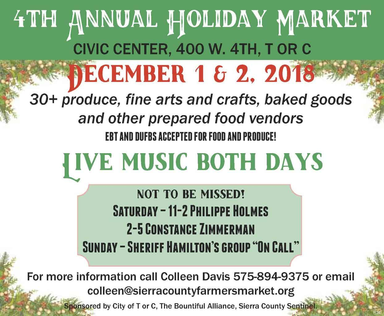 4th Annual Holiday Market