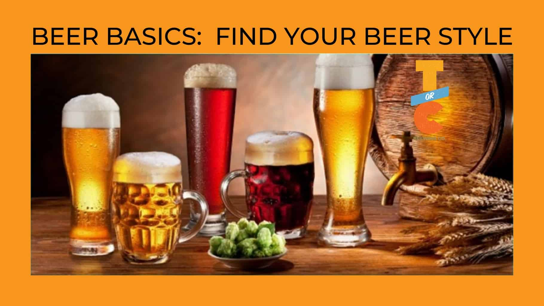 Beer Basics: Find Your Beer Style