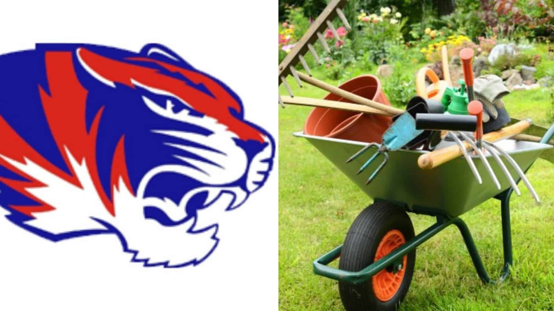Spring Cleanup With Tigers Football