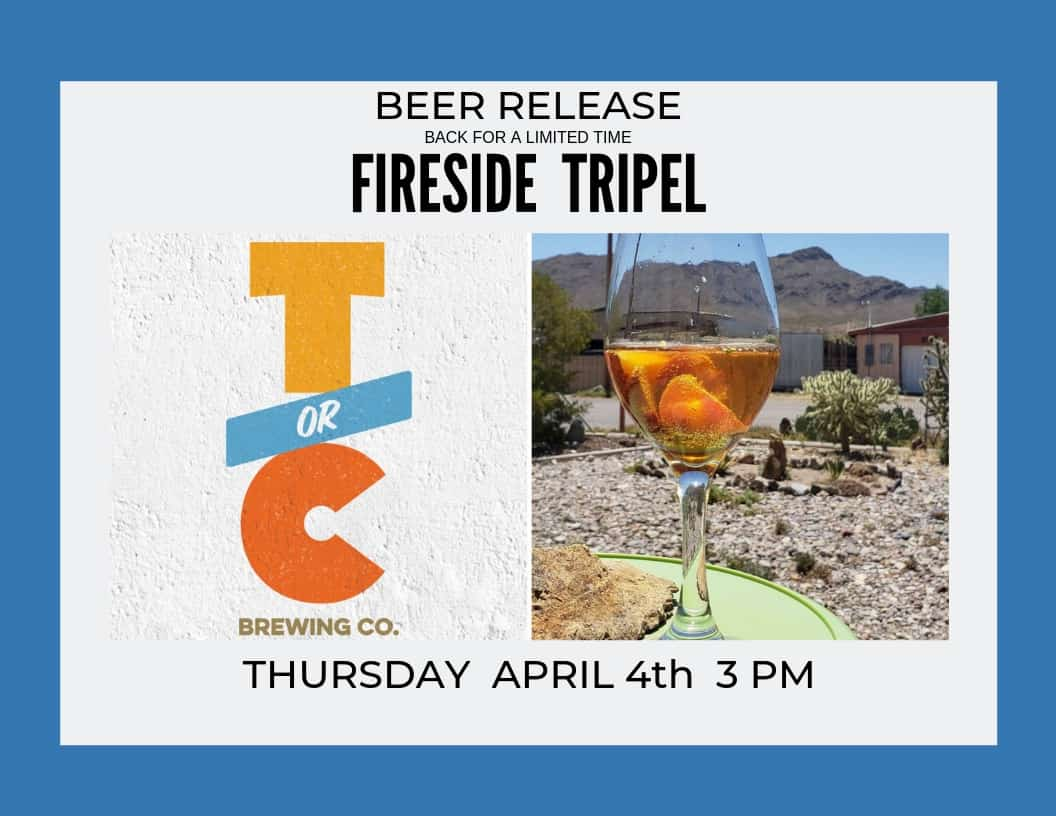 Fireside Tripel is Back!