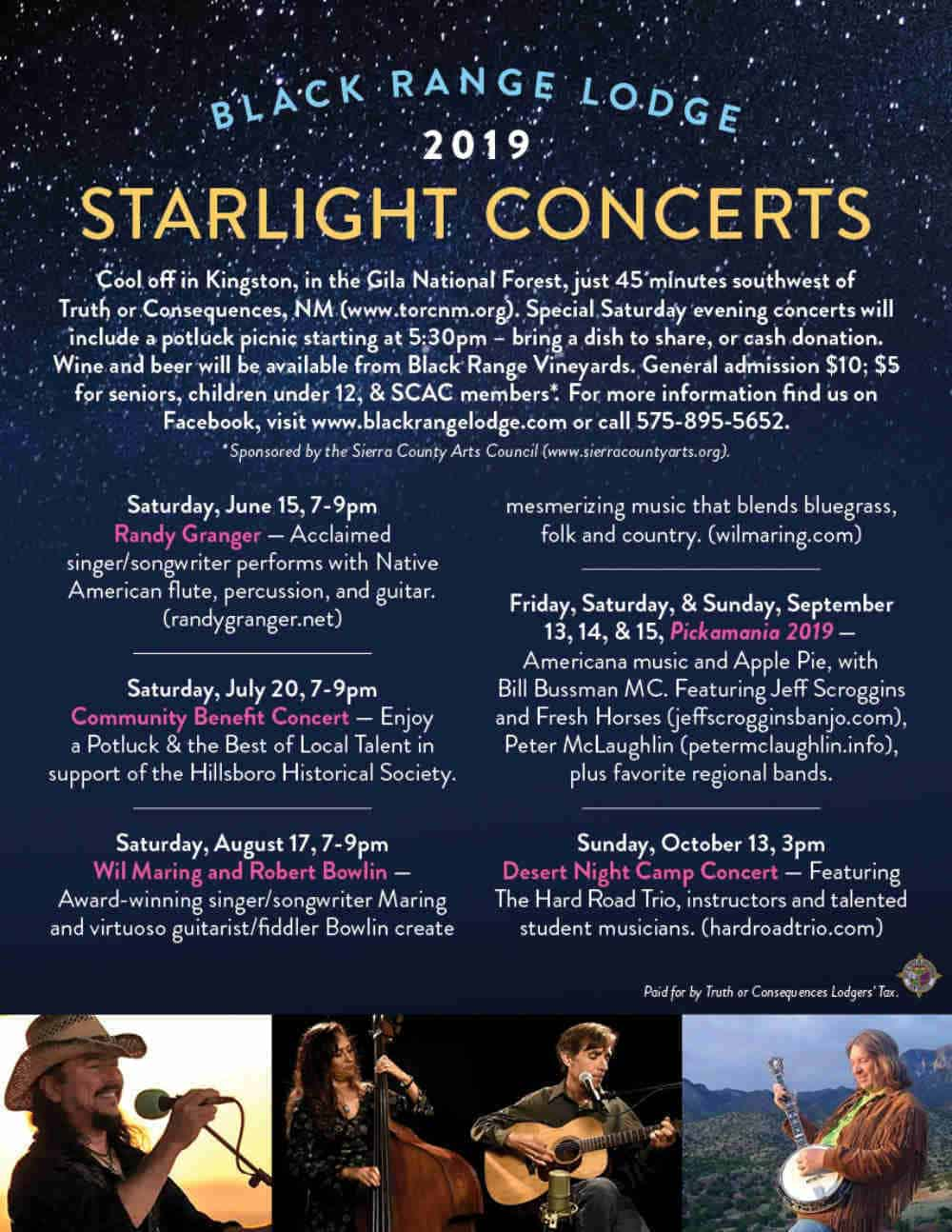 Starlight Concert Series in Kingston