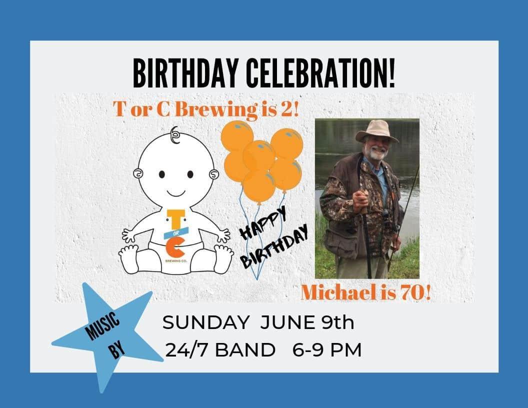 Michael Eatough's Bday & Community Celebration w/ 24/7 Blues Band!