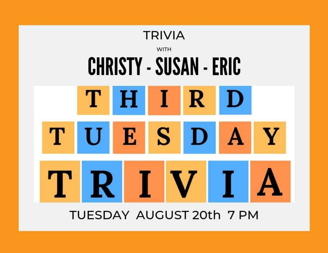 Third Tuesday Trivia