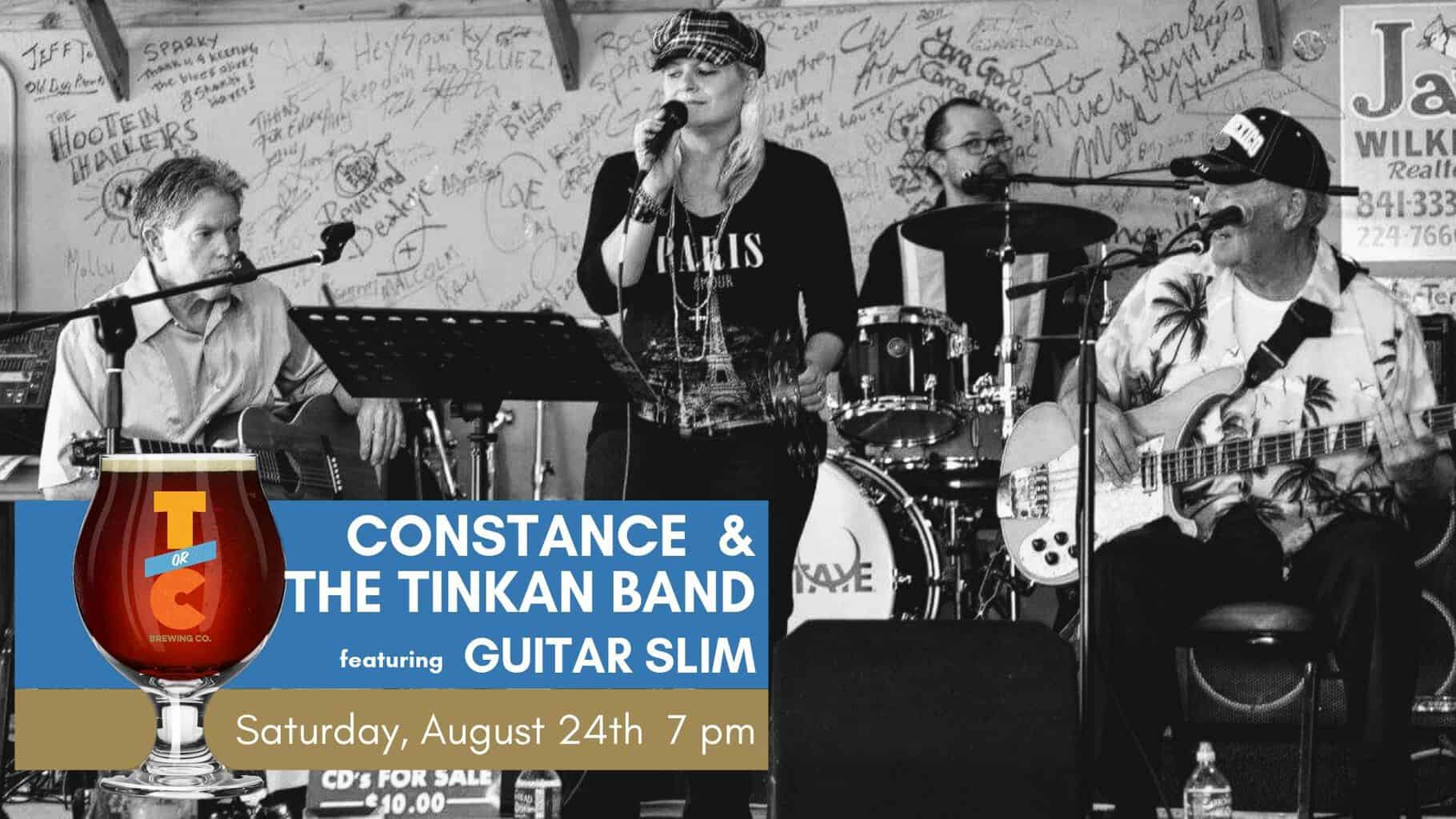 Constance and The TinKan Band featuring Guitar Slim