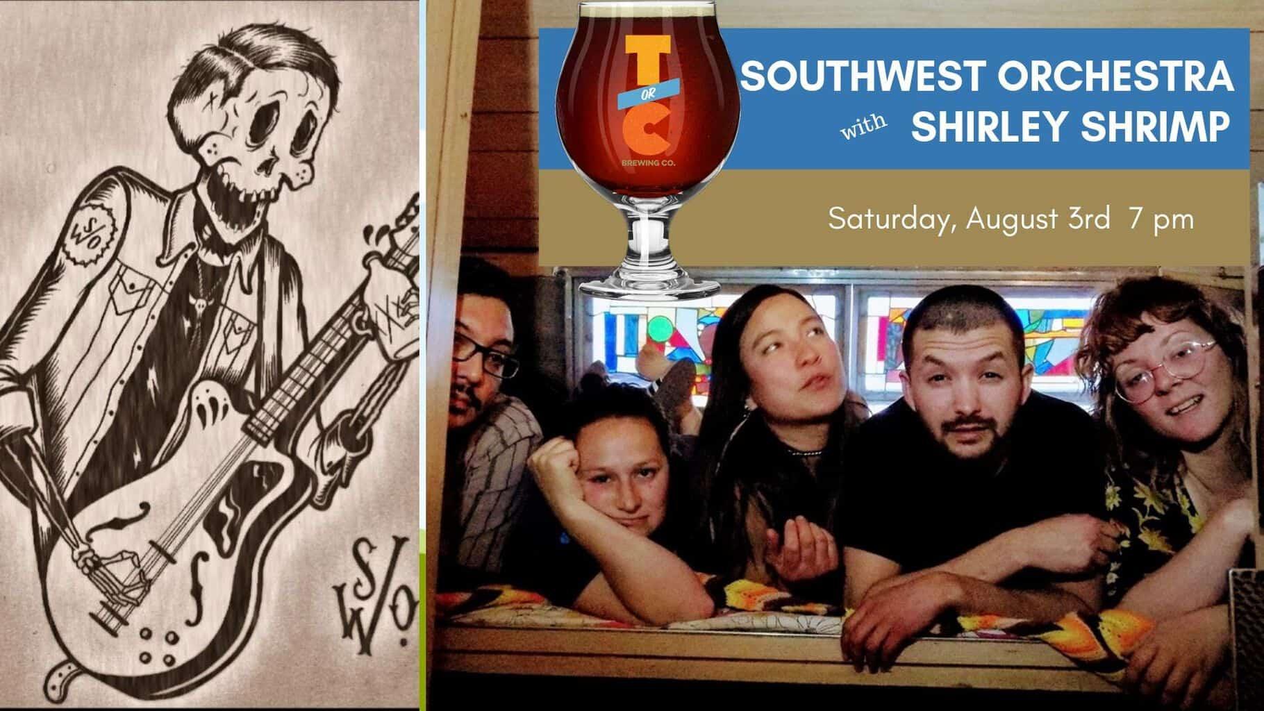 Southwest Orchestra w/Shirley Shrimp