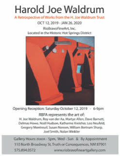 H. Joe  Waldrum Retrospective -  Opening Reception