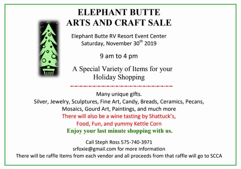 Elephant Butte Fine Arts and Crafts Show