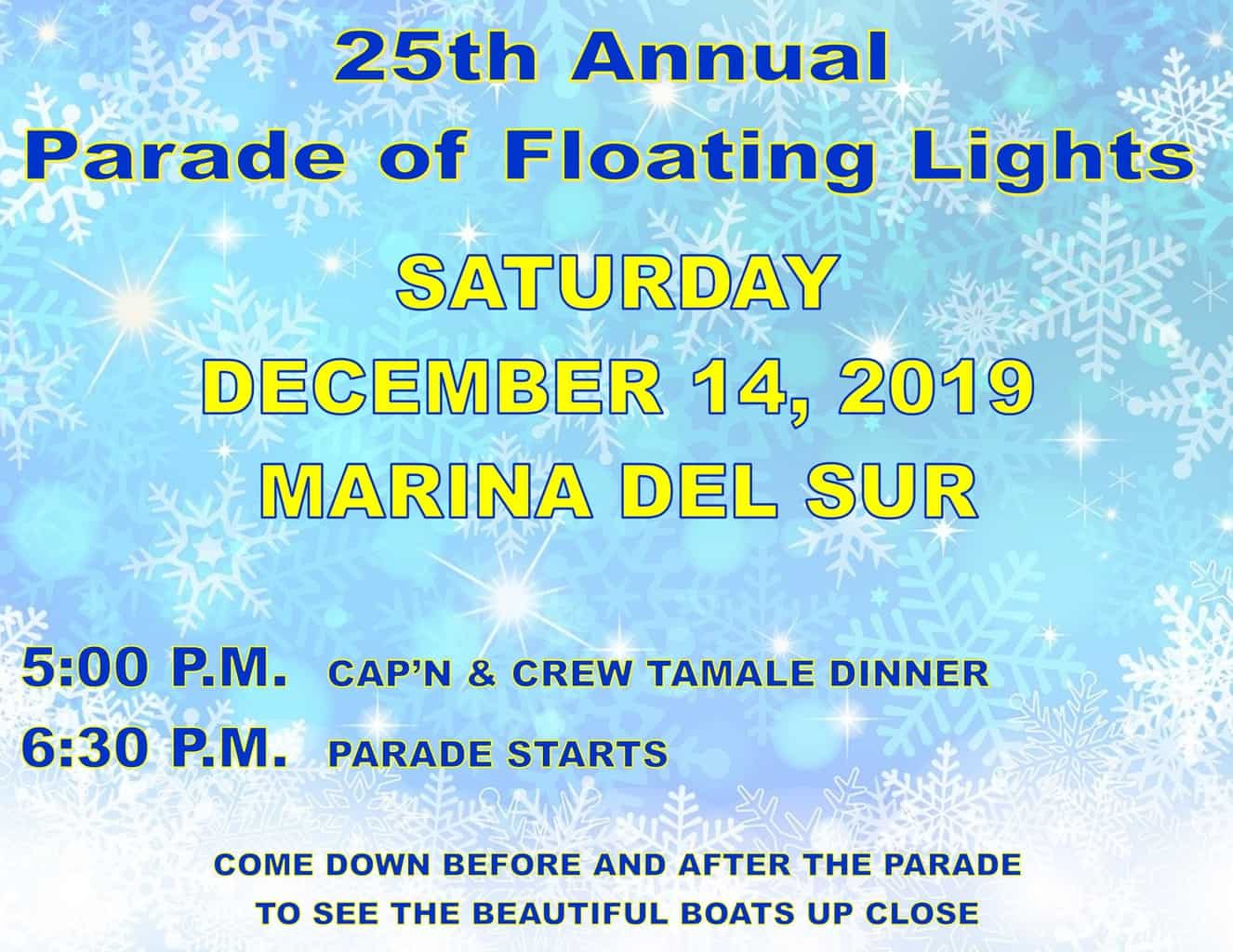 25th Annual Parade of Floating Lights