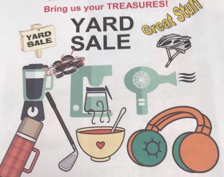 Recycling Committee Yard Sale