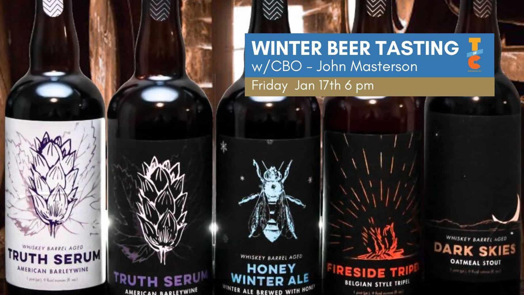 Winter Beer Tasting
