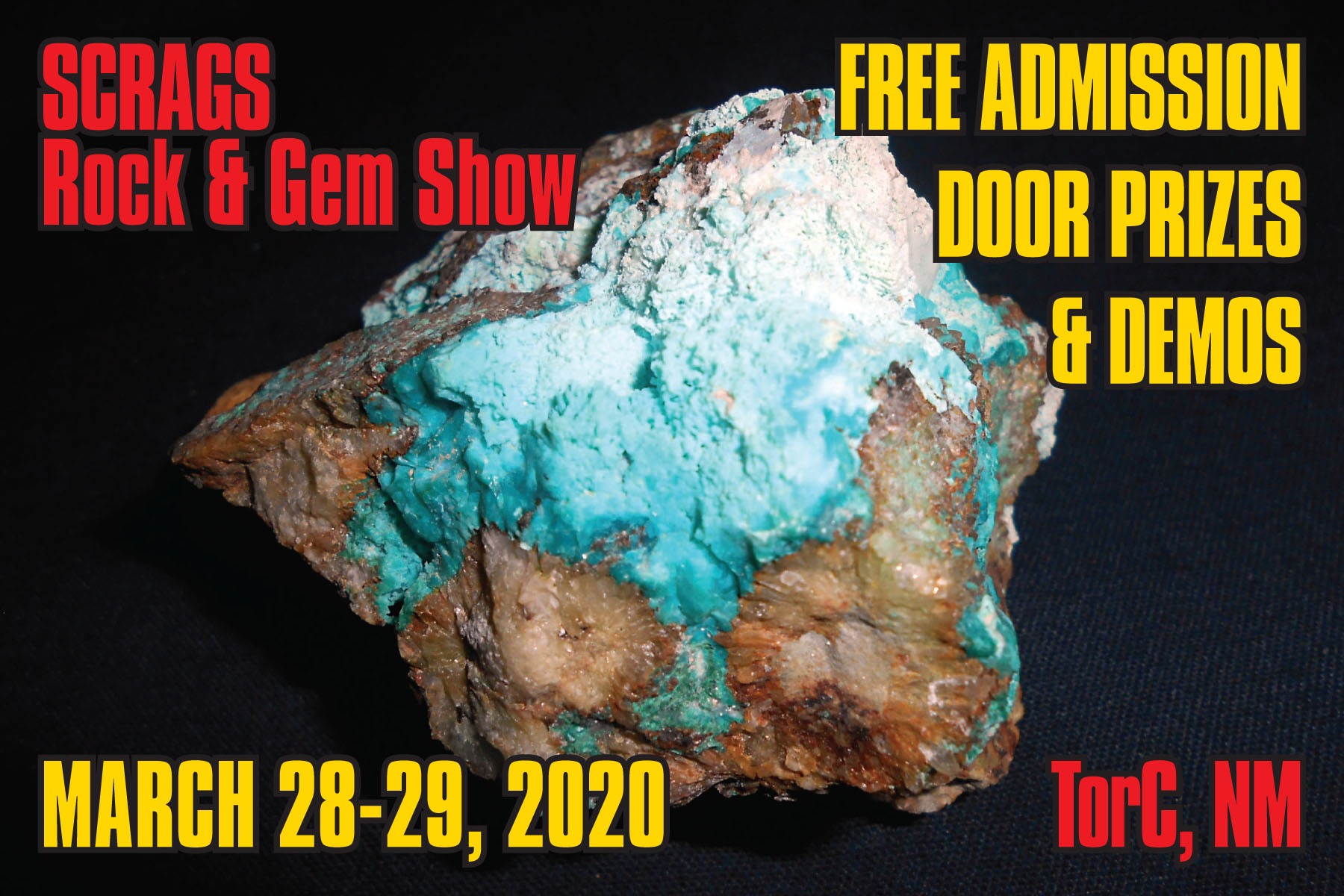 SCRAGS  Rock & Gem Show