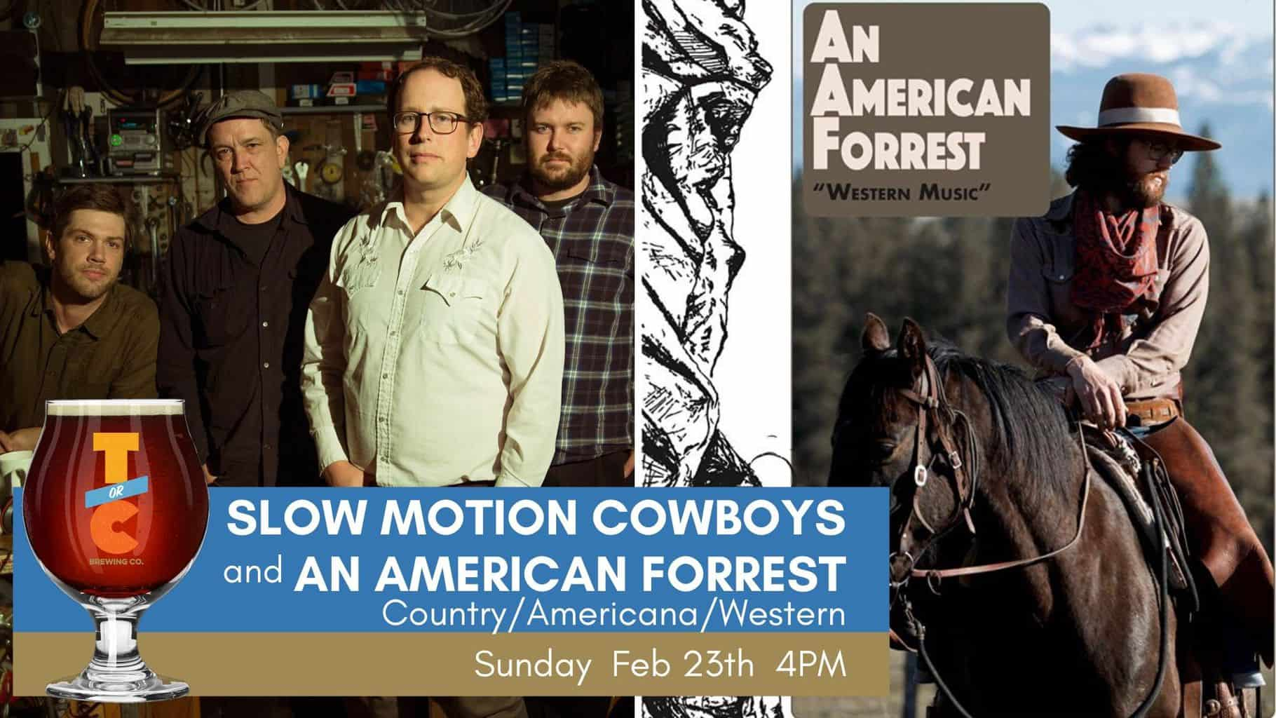 Slow Motion Cowboys & An American Forrest