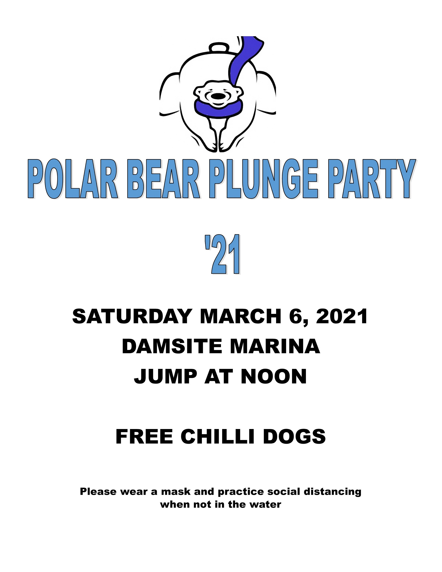 2021 Socially Distanced Polar Bear Plunge Party